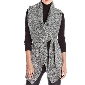 Blank NYC - Sleeveless Chunky Belted Sweater